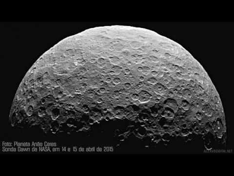PLANETA CERES: IMAGENS 2015 - SONDA DOWN DA NASA - YouTube