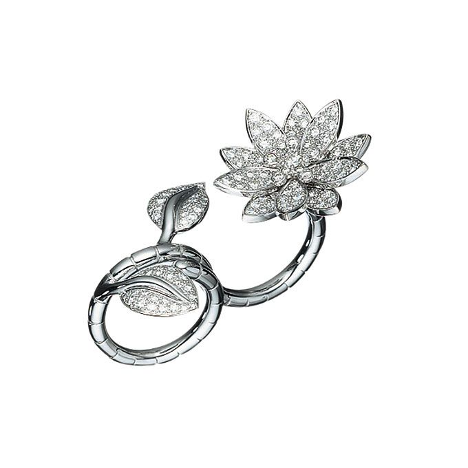 floral inspired ring by van cleef u0026 arpels for custom designed nature inspired jewelry describe
