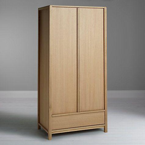 Buy John Lewis Montana 2 Door Wardrobe, Oak Online at johnlewis.com