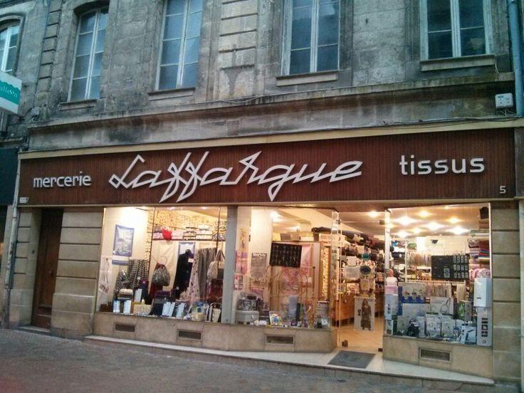 Mercería Laffargue en Bourdeaux.