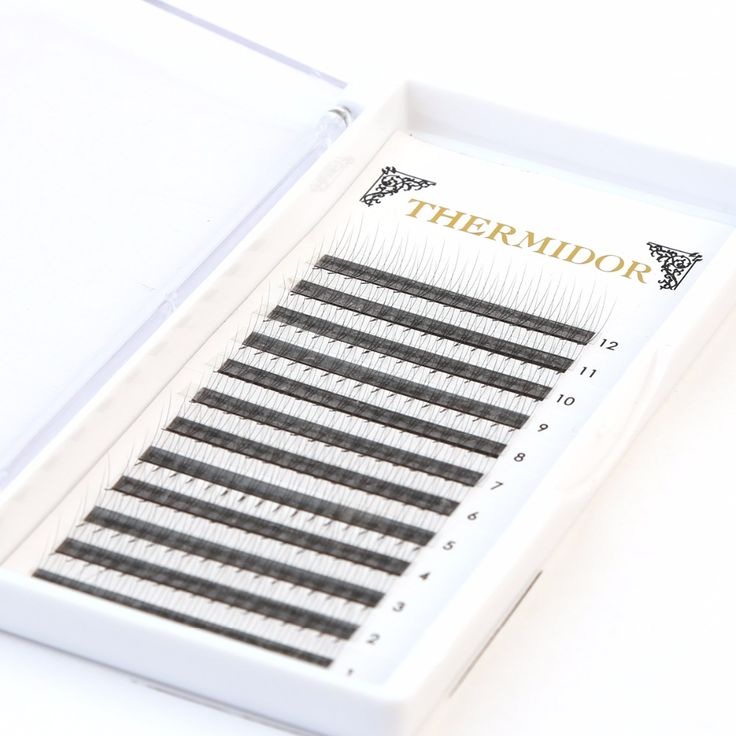 1 Tray Premade Volume Lashes Extension Fans 3D Professional Russian Lashes Individual Cilia False eyelash Extension Kits