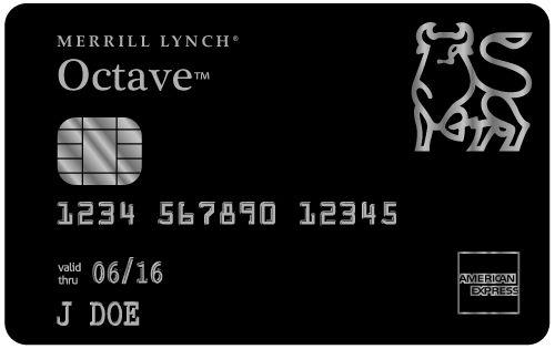 American Express | Merrill Lynch Octave Black Card