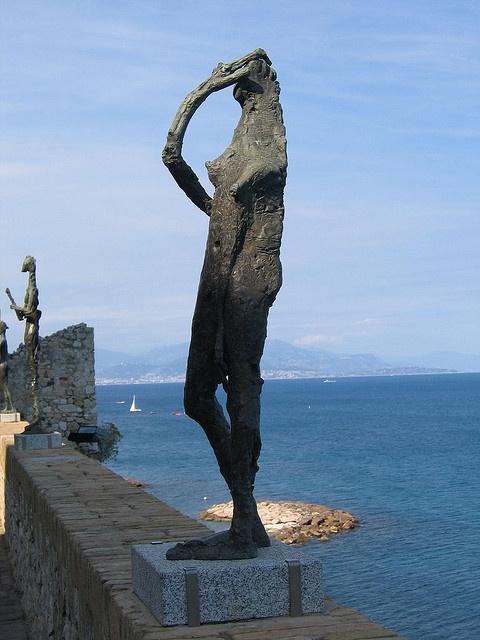 Musée Picasso, Germaine Richier sculpture, via Flickr.