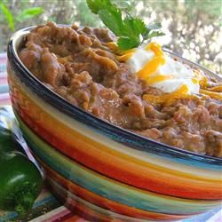 Refried Beans Without the Refry, I'll make this for the party