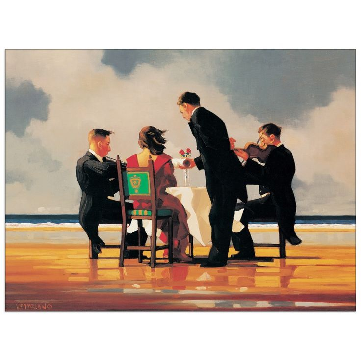 17 Best images about Jack Vettriano on Pinterest | Seaside, The picnic ...