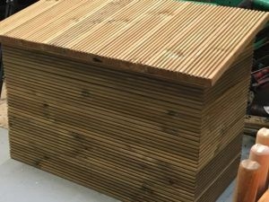 Wooden Garden Storage Boxes With Lids