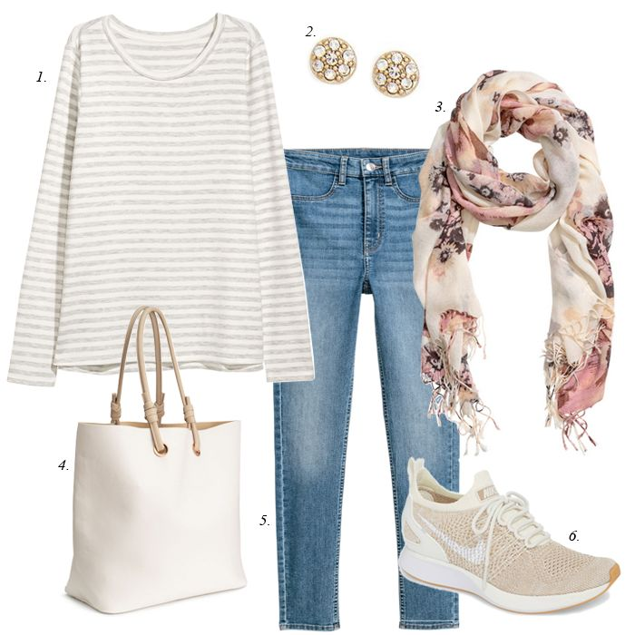 how to create 7 looks from your closet, shop your closet outfits, casual, women, fashion, sahm outfit