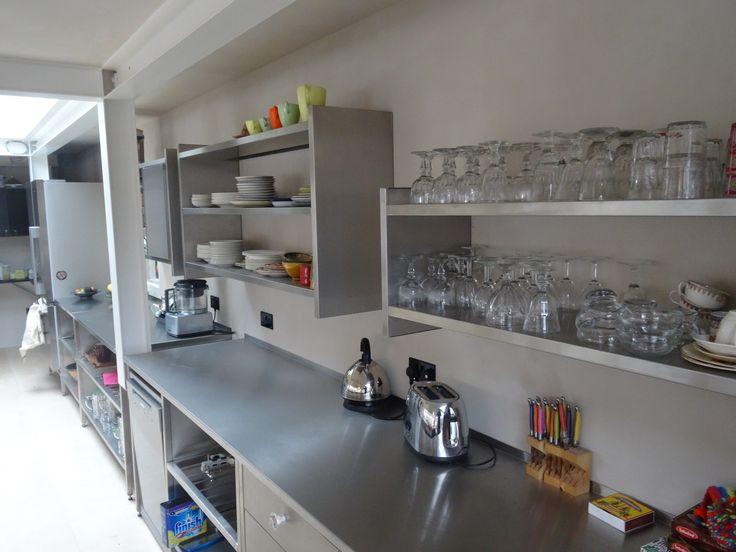GEC Anderson stainless steel modular kitchen units
