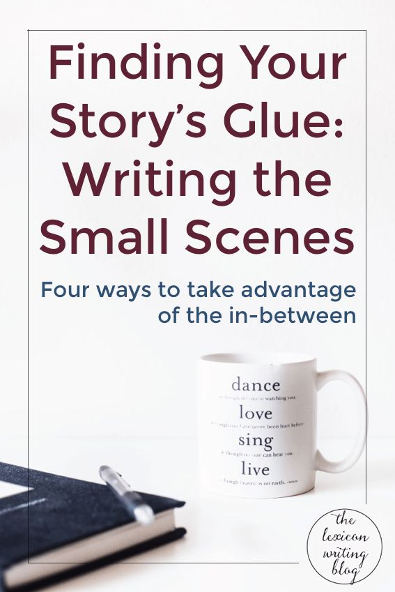 """Whenever I start writing a new story, I'm filled to the brim with the """"big scenes"""". You know the ones: the big battles, the declarations of love, the moments of failure or success or terror.…"""