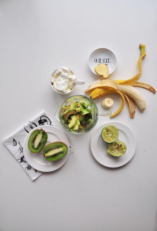 Z cyklu: Całkiem zdrowo! Zielony koktajl   Make Cooking Easier