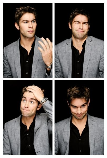 Chase crawford.... This is pretty much the sequence of faces that i make when i try to explain something about math...
