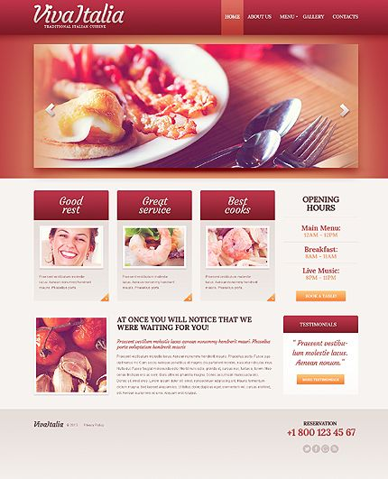 Responsive food template http://www.titantemplates.com/en/template/42842