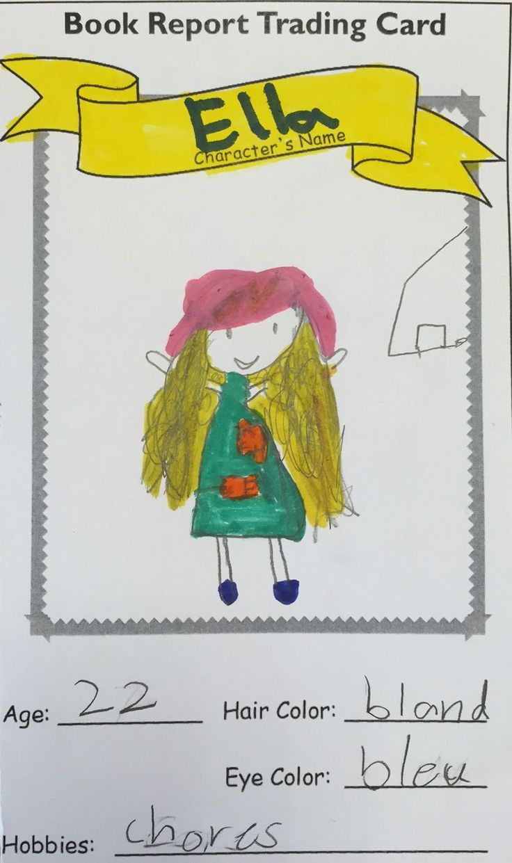 paper bag book report 3rd grade Writing a book report the assignments given determine the overall grade writing a book report will take you a long time than working on any other paper or.