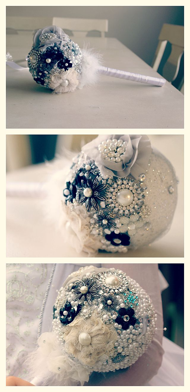 beautiful beaded flower bouquet that will last forever!