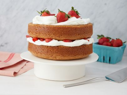 Barefoot Contessa's Strawberry Country Cake