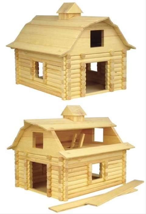 Wooden Toy Barn Plans W Modernday Diy