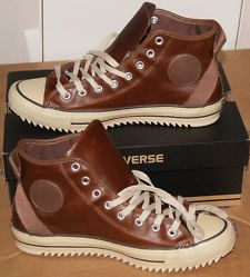 View Item: NEW AUTHENTIC CONVERSE ALL STAR CHUCK TAYLOR LEATHER HOLLIS HI MEN'S 10