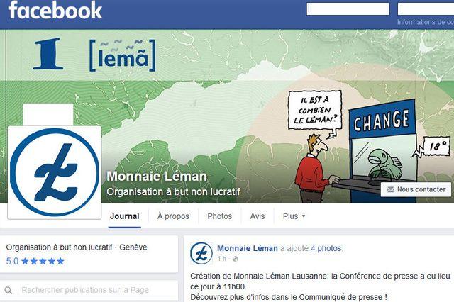 Le léman la monnaie qui débarque à Lausanne