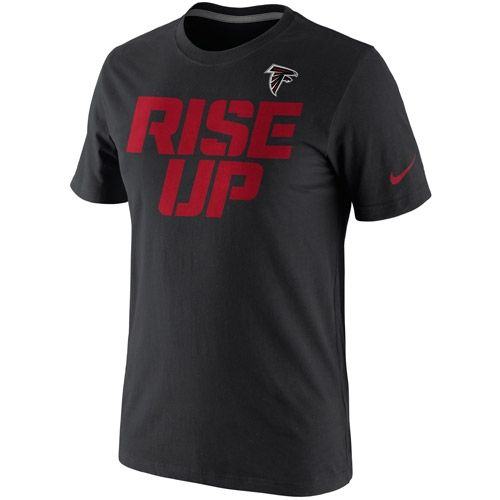 OfficialFalconsgear.com - Atlanta Falcons Rise Up Nike T-Shirt - Official Falcons Gear