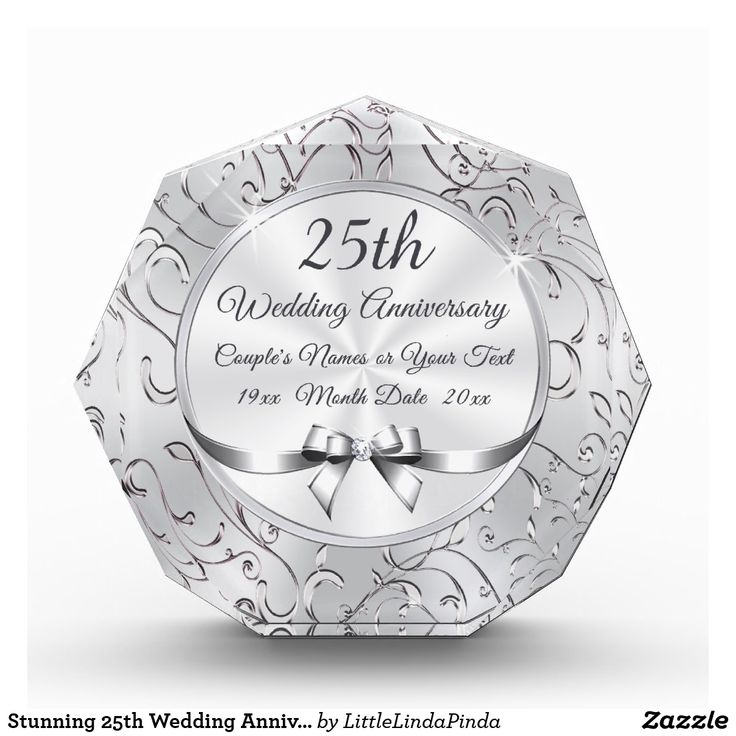 Best 25th Wedding Anniversary Gift Ideas: 11 Best 25th Anniversary Gifts Images On Pinterest