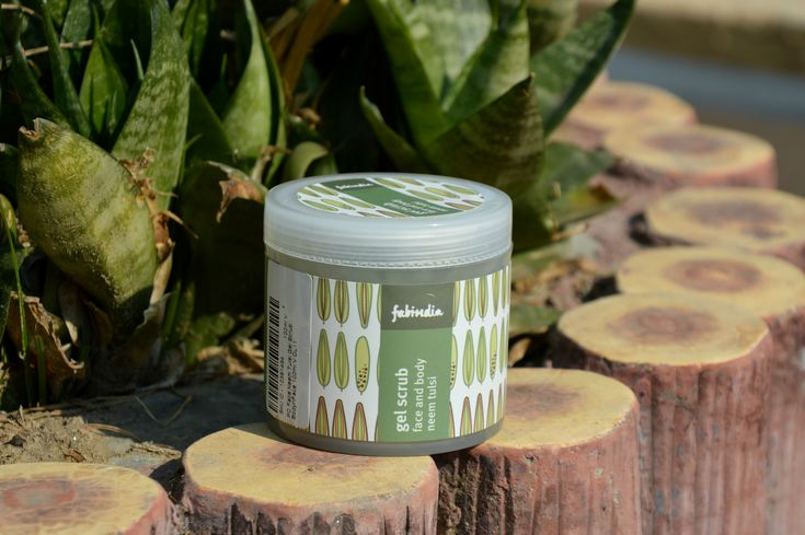 FabIndia's Neem and Tulsi Face and Body Gel Scrub's Review – AARUSHI JAIN   A Beauty, Fashion & Lifestyle blog