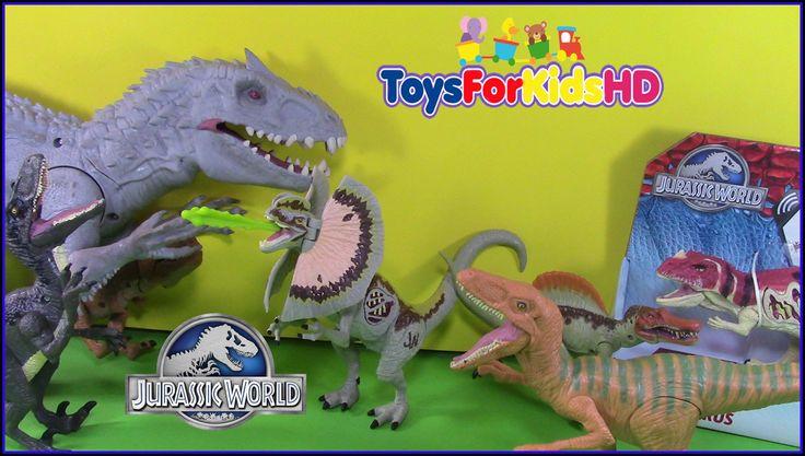 Los Dinosaurios para niños  de Jurassic World -  Juguetes de Jurassic Wo...