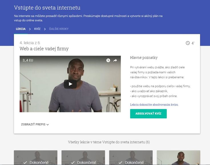 Kurz Google o online podnikaní - zadarmo