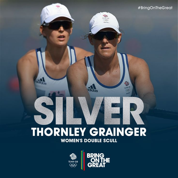 """SILVER OLYMPIC MEDALISTS! @VickyThornleyGB & Katherine Grainger Rio2016 Many congratualtions!"