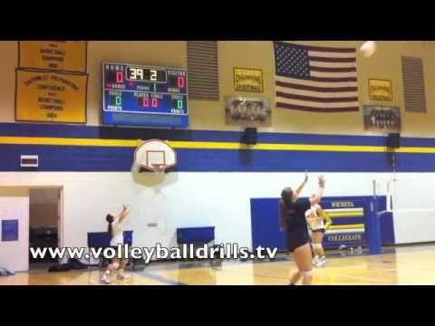 Volleyball Drills: Better Ball Control 60 seconds