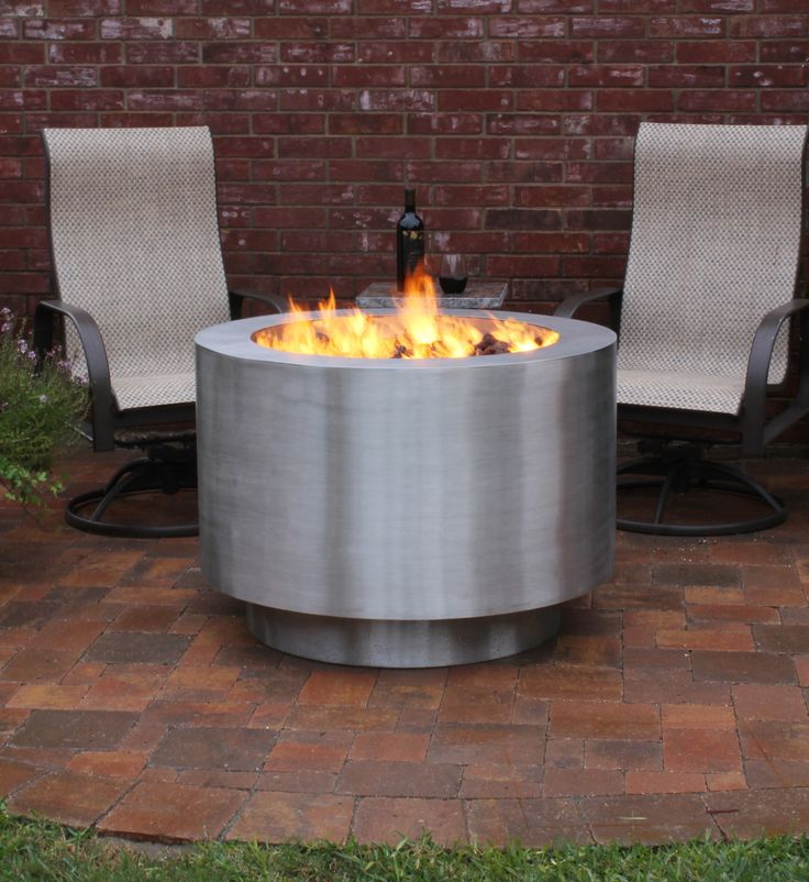 10 best stainless steel fire pits images on pinterest stainless