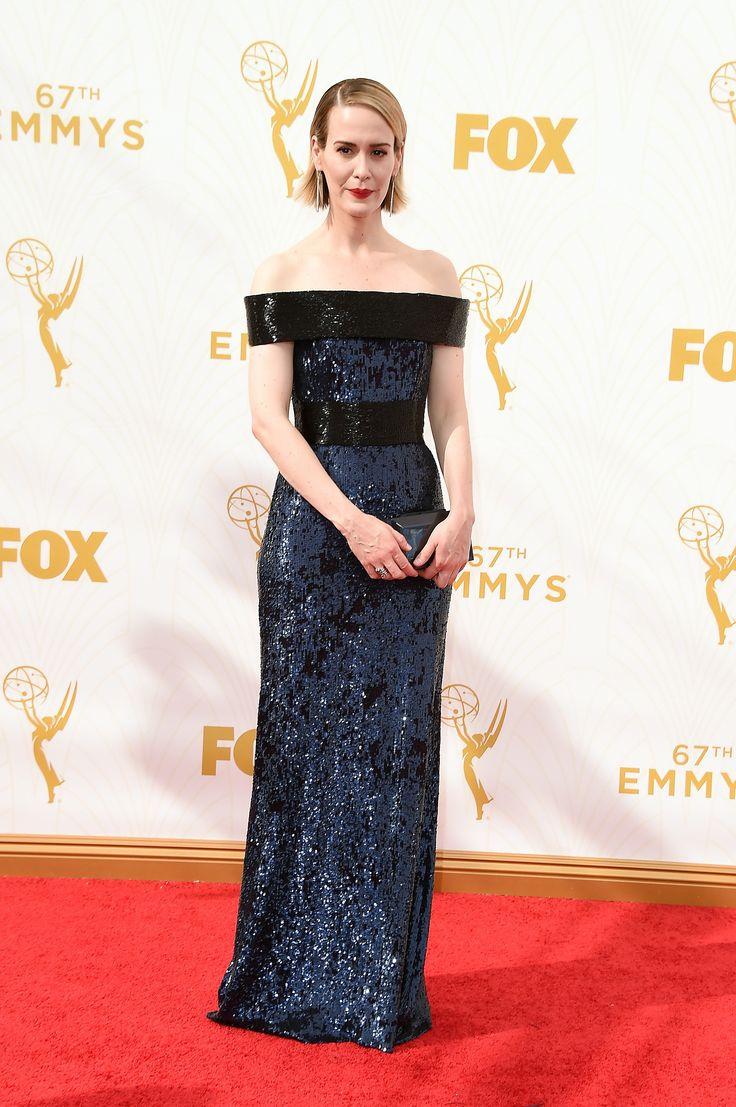 Sarah Paulson  aux Emmy Awards 2015