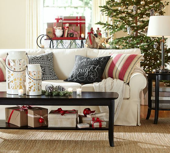 327 Best Pottery Barn Christmas Images On Pinterest Christmas Decor Pottery Barn Christmas