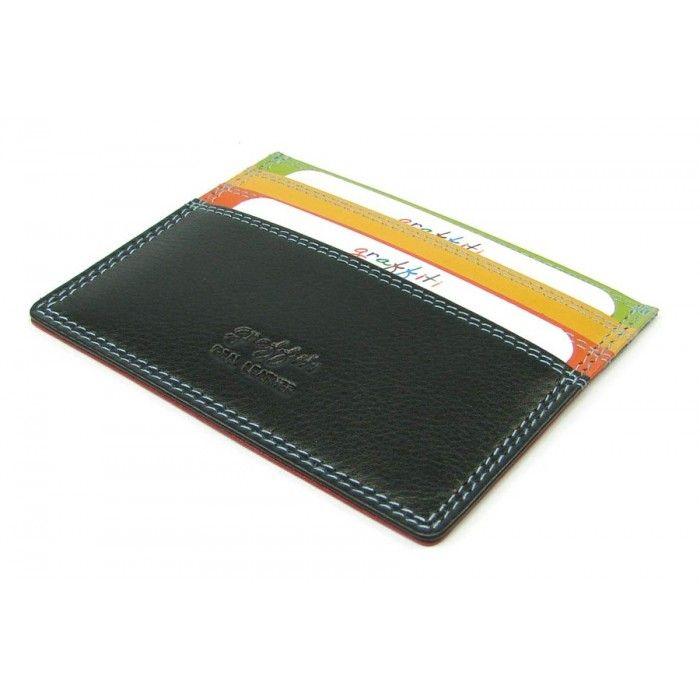 Malé luxusní pouzdro na karty - peněženky AHAL