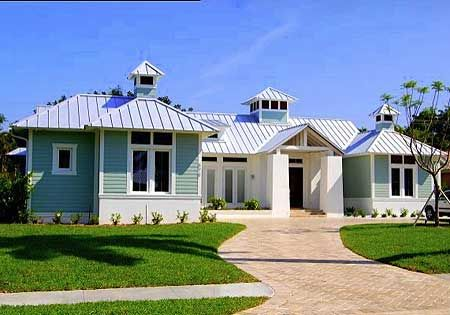 Flexible Beachside Beauty - 1798DW | Beach, Florida, Southern, Vacation, Narrow Lot, 1st Floor Master Suite, CAD Available, Den-Office-Library-Study, PDF | Architectural Designs