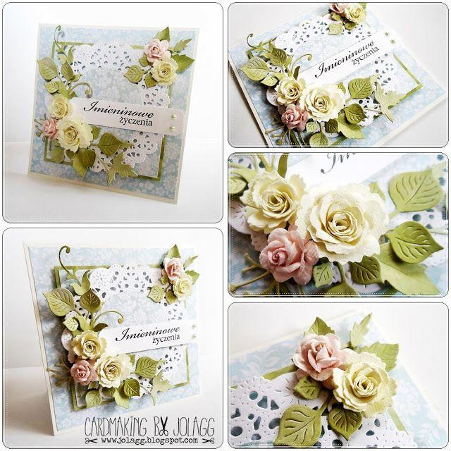 Cardmaking by jolagg: Kartki imieninowe i urodzinowe