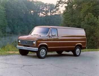 1986 Ford E 250 Econoline Cargo Van