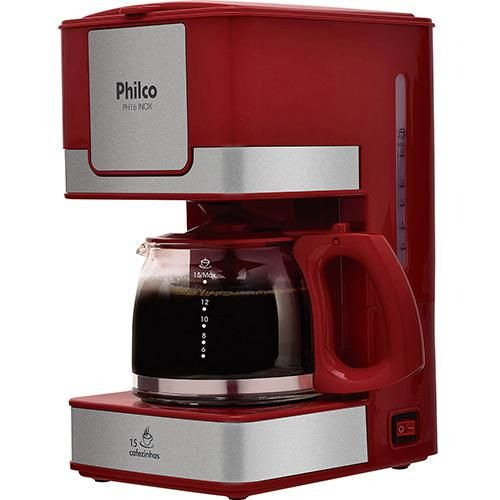 Cafeteira Elétrica Philco PH16 Inox 600ml - Americanas.com
