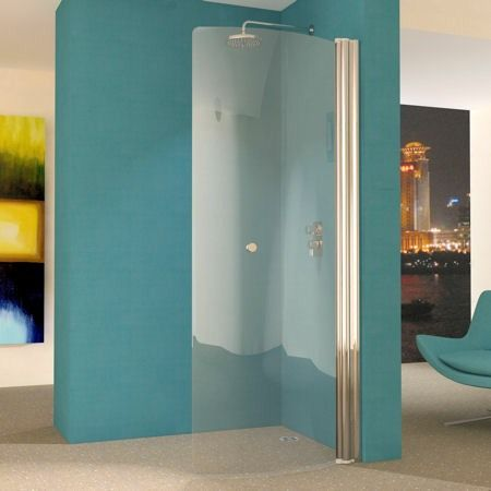 UniArc 850 Curved Glass Wet Room Screen
