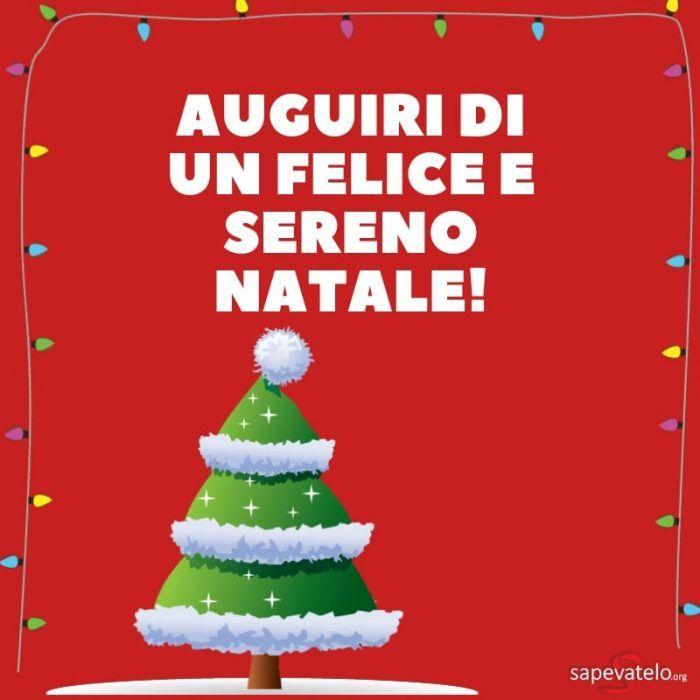 Auguro Un Buon Natale.Auguri Di Un Felice E Sereno Natale Buon Natale Natale Festa