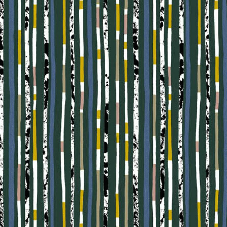 Riga Fabric by Lucienne Day (Green) 1