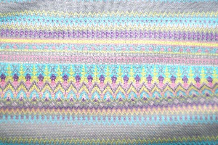 Stenzo 15/16 8503-14 Gebreide tricot fantasie streep lichtgrijs/taupe