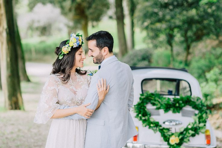 A romantic elopement in Tuscany!