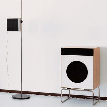 Braun speaker system by Dieter Rams.