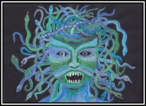 Řecká mytologie - Medusa
