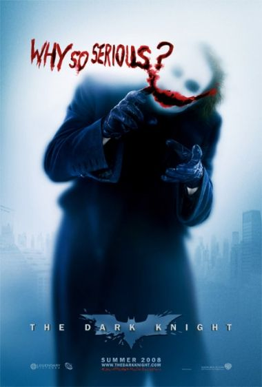 Batman - Mroczny Rycerz - Joker - Why So Serious ? - plakat