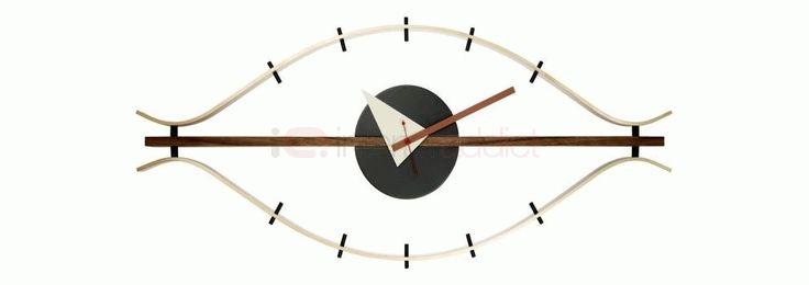 George Nelson Eye Clock   InteriorAddict.com