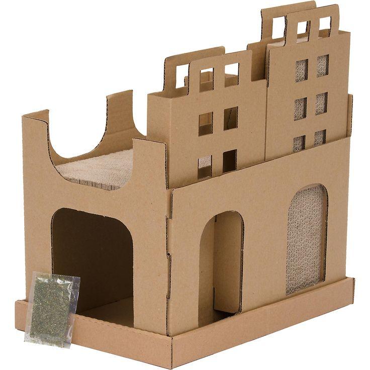 Lovely Planet Petco Cityscape Cardboard Cat Scratcher Design Inspirations