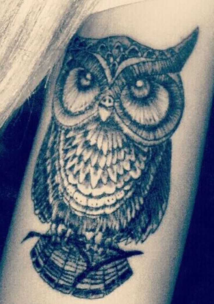 Tribal Owl Tattoo Arm Sleeve for Women - MyBodiArt.com