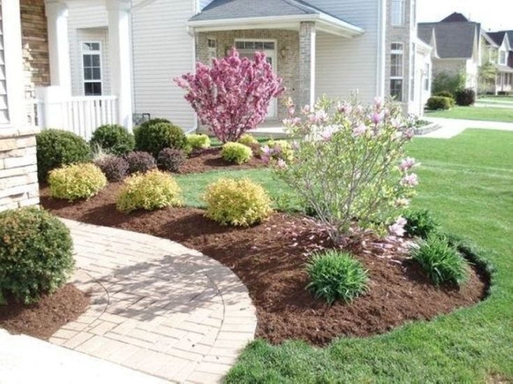 Simple But Elegant Front Yard Decorating Ideas 34 | Cheap ...
