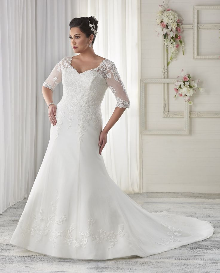 Best Plus Size Bridal Gowns Images On Pinterest Wedding